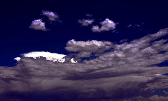 edited clouds